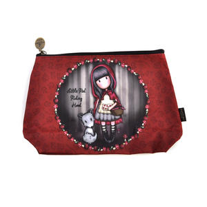Little Red Riding Hood - Large Coated Gorjuss Make Up and Accessories Case