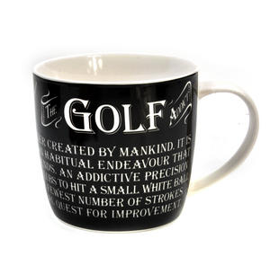 Golf Addict - Enamel Mug and Tin Gift Set Thumbnail 2