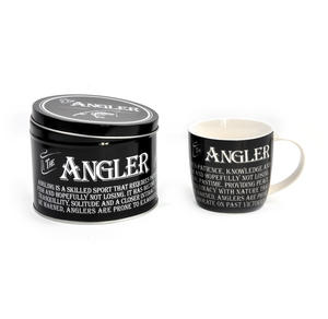 The Angler - Enamel Mug and Tin Gift Set