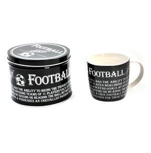 Football Crazy - Enamel Mug and Tin Gift Set Thumbnail 1
