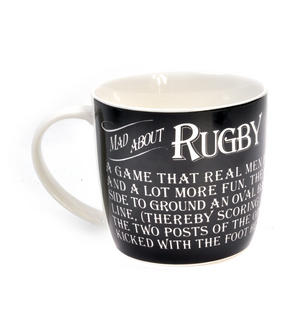 Mad About Rugby - Enamel Mug and Tin Gift Set Thumbnail 2