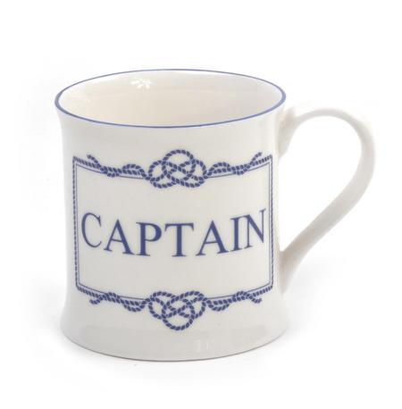 Captain Campfire Porcelain Mug - White