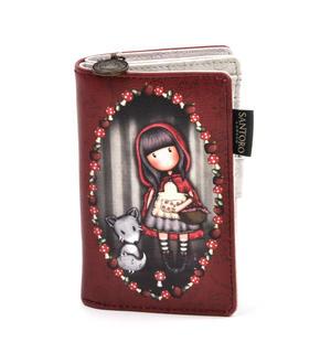 Little Red Riding Hood Small Wallet by Gorjuss