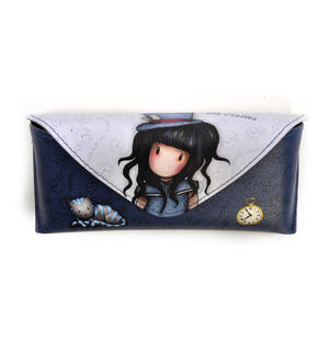 Hatter - Large Glasses Case by Gorjuss
