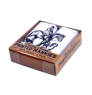 Hunting - 2 Pack - Country Sports Scenes Printed Handkerchiefs Thumbnail 2
