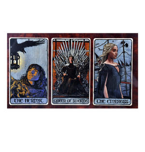 Game of Thrones Tarot Deck and Guidebook Box Set Thumbnail 3