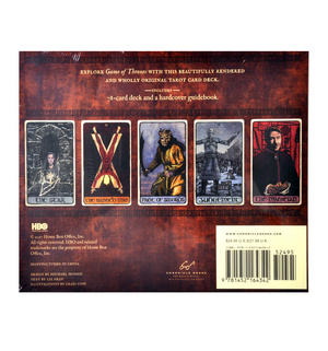 Game of Thrones Tarot Deck and Guidebook Box Set Thumbnail 6