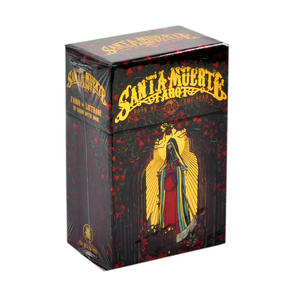 Santa Muerte Book of The Dead Tarot Deck by Fabio Listrani - 78 Cards and Guidebook Box Set