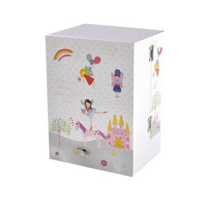Unicorn Wind-Up Musical Jewellery Storage Box - I Believe in Unicorns, Magic and Fairies. Thumbnail 3