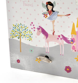 Unicorn Wind-Up Musical Jewellery Storage Box - I Believe in Unicorns, Magic and Fairies. Thumbnail 4