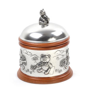 Teddy Bears Picnic - Pewter and Wood Music Box by Royal Selangor Thumbnail 5