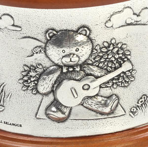 Teddy Bears Picnic - Pewter and Wood Music Box by Royal Selangor Thumbnail 6