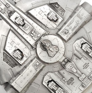Star Wars Millennium Falcon by Royal Selangor Thumbnail 6
