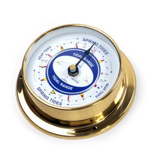 Spring Neap Tide Clock - Neptune's Tide Clock SC 1000 A - L - Polished Brass Thumbnail 3