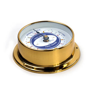 Spring Neap Tide Clock - Neptune's Tide Clock SC 1000 A - L - Polished Brass Thumbnail 4