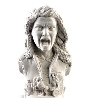 Boudica Statuette - Famous Faces Collection Plaster Bust Thumbnail 1