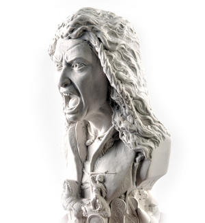 Boudica Statuette - Famous Faces Collection Plaster Bust Thumbnail 3