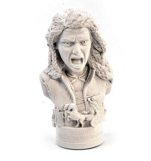 Boudica Statuette - Famous Faces Collection Plaster Bust Thumbnail 4