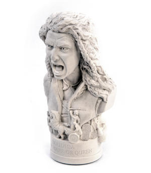 Boudica Statuette - Famous Faces Collection Plaster Bust Thumbnail 7