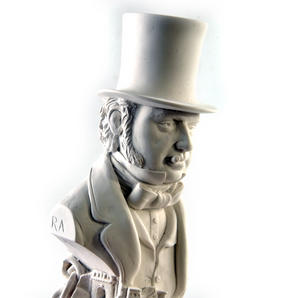 Isambard Kingdom Brunel Statuette - Famous Faces Collection Plaster Bust Thumbnail 7