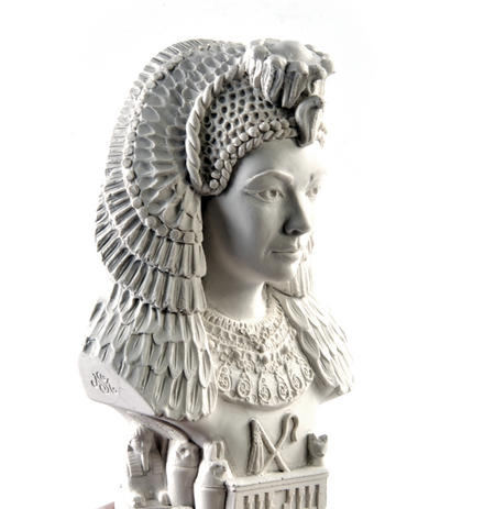 Cleopatra Statuette - Famous Faces Collection Plaster Bust
