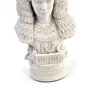 Cleopatra Statuette - Famous Faces Collection Plaster Bust Thumbnail 4