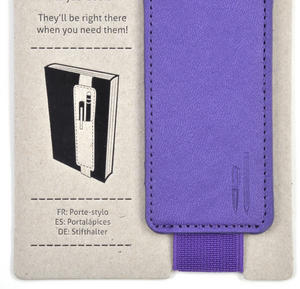 Purple Bookaroo - Pen Pouch for Books Thumbnail 3
