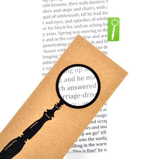 Magnifying Glass - The Really Useful Magnifying Bookmark  x2 Magnification Thumbnail 2