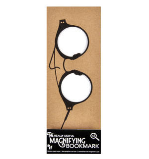 Full Rim Round Glasses - The Really Useful Magnifying Bookmark  x2 Magnification Thumbnail 1