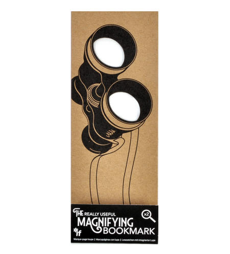 Binoculars - The Really Useful Magnifying Bookmark  x2 Magnification