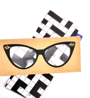 Cat Eye Glasses - The Really Useful Magnifying Bookmark  x2 Magnification Thumbnail 2