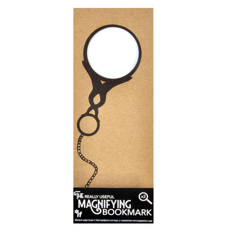 Monocle - The Really Useful Magnifying Bookmark  x2 Magnification