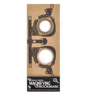 Optician - The Really Useful Magnifying Bookmark  x2 Magnification