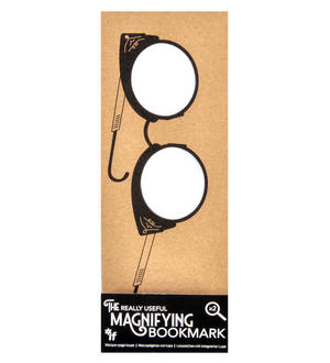 Wing Glasses - The Really Useful Magnifying Bookmark  x2 Magnification