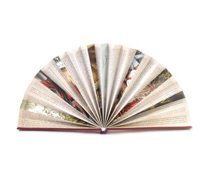 Red Book Fan - The Literary Hand Fan