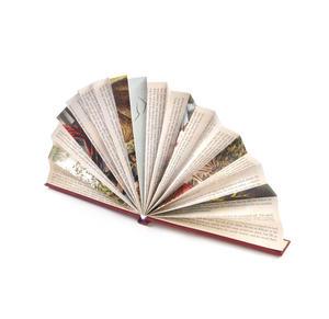 Red Book Fan - The Literary Hand Fan Thumbnail 2