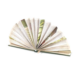 Blue Book Fan - The Literary Hand Fan