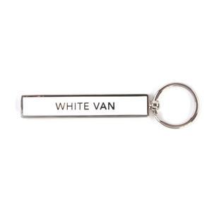 White Van Keyring - Show Off Keys
