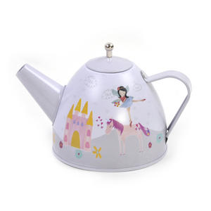 Fairy & Unicorn Tea Party Set - 7pc Miniature Tea Set - In Square Case Thumbnail 7