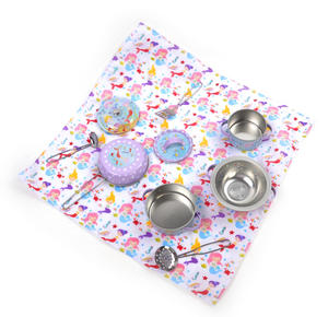 Mermaid Chef's Kitchen Set - 10pc Miniature Cooking Set in Round Case Thumbnail 8