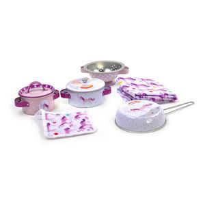 Unicorn Chef's Kitchen Set - 8pc Miniature Cooking Set in Round Case Thumbnail 5