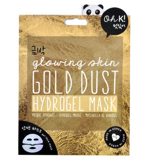 Gold Dust - Glowing Skin Hydrogel Mask - Oh K! Made in Korea