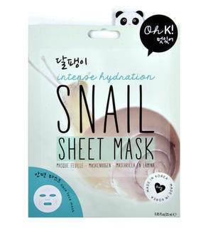 Snail Sheet Mask - Intense Hydration Fibre Face Mask - Oh K! Made in Korea