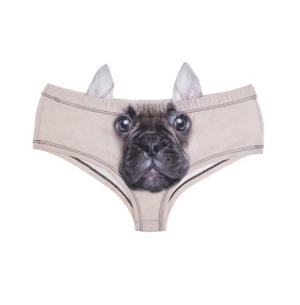 French Bulldog Earpanties - Animal Photo Print Cheekster Panties Thumbnail 1