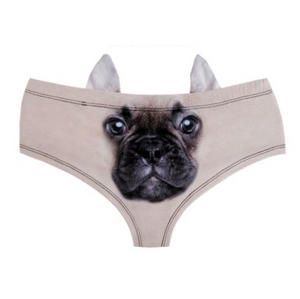 French Bulldog Earpanties - Animal Photo Print Cheekster Panties Thumbnail 2