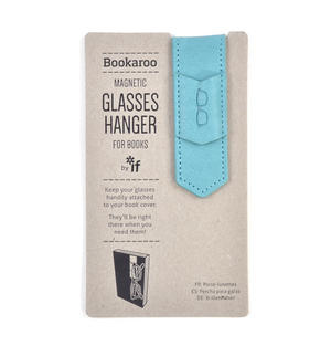 Blue Bookaroo Magnetic Glasses Hanger For Books