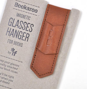 Brown Bookaroo Magnetic Glasses Hanger For Books Thumbnail 2