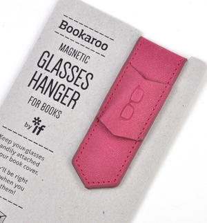 Pink Bookaroo Magnetic Glasses Hanger For Books Thumbnail 2