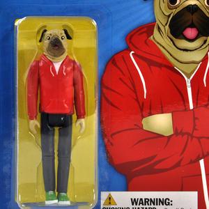 Strange Friends - Roscoe Pug Action Figure Thumbnail 2