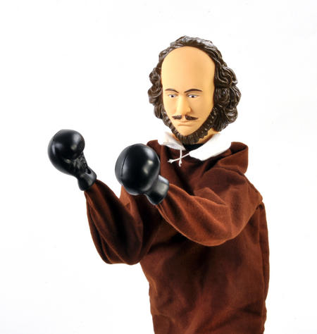 Shakespeare Punching Puppet